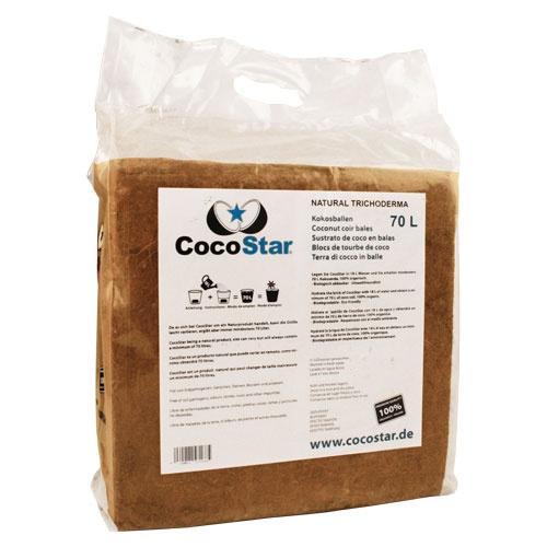 CocoStar bale 70l, lisovaný kokos 30x30x12cm