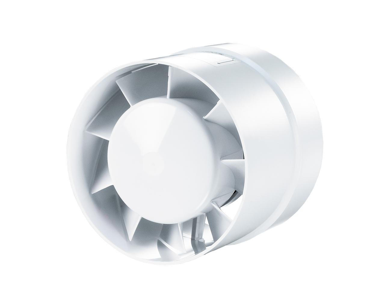 Ventilátor VKO 125, 185m3/h, D=120, D1=129 mm
