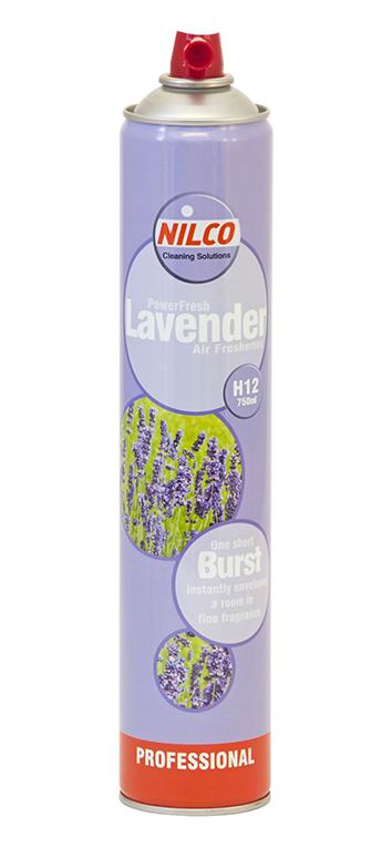 Osvěžovač vzduchu Nilco Powerfresh Lavender, sprej 750 ml