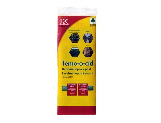 Lapače lepové Temo-o-cid 10ks, barevná lepová past
