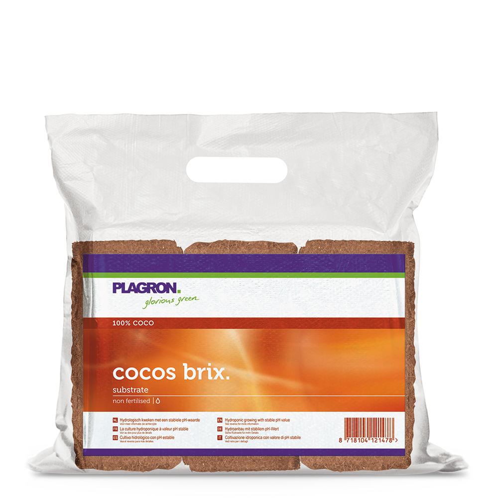 PLAGRON Lisované kokosové brikety, 9L po rehydrataci