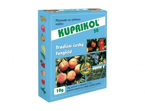 Kuprikol 50 10g, fungicidní postřk