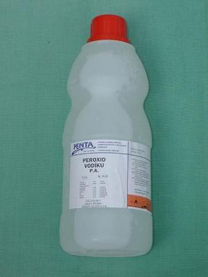 Peroxid vodíku 30% - na čištění systému - litr