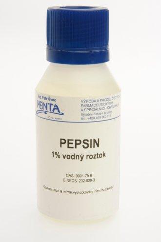 Pepsin 100ml - čistí elektrodu