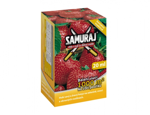 Samuraj 20ml, insekticidní přípravek