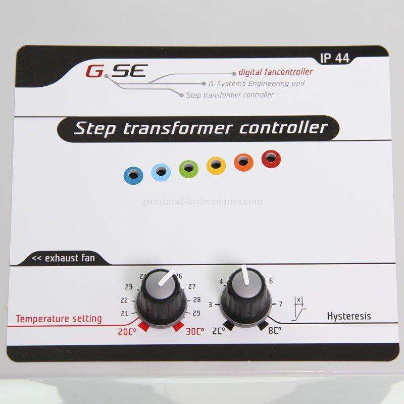 GSE Step transformer 8A- krokový regulátor pro 1 ventilátor