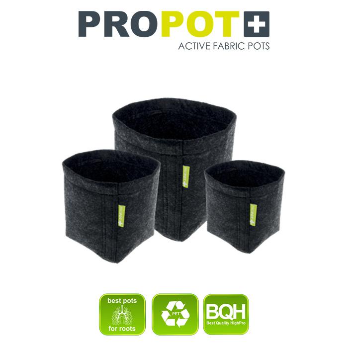 Textilní květináč PROPOT 4L, 15x15x20cm
