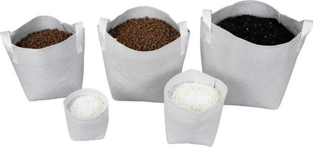 Tex Pot textilní květináč bílý 10l