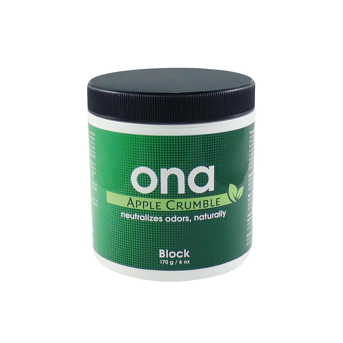 ONA Block, pohlcovač zápachu 170g - Apple Crumble
