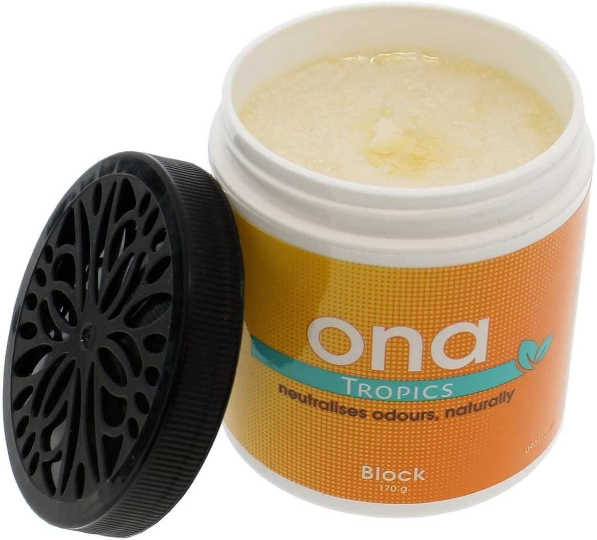 ONA Block, pohlcovač zápachu 170g - Tropics