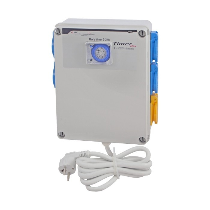 GSE Timer Box II 4x600W +topení 1x 2000W