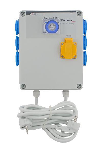 GSE Timer Box II 6x600W + 1x2000W, 220V