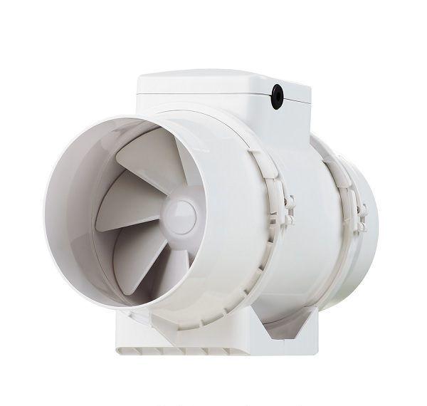 Ventilátor TT 125S se silnějším motorem, 285/345m3/h