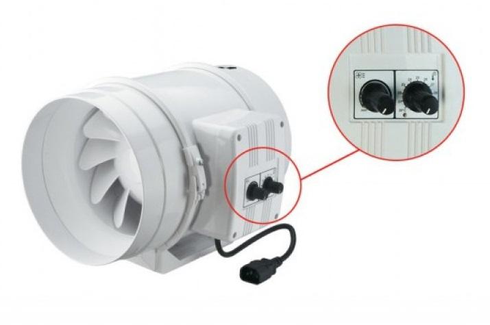 Ventilátor TT 315 PRO U s termostatem, 1760/2350m3/h
