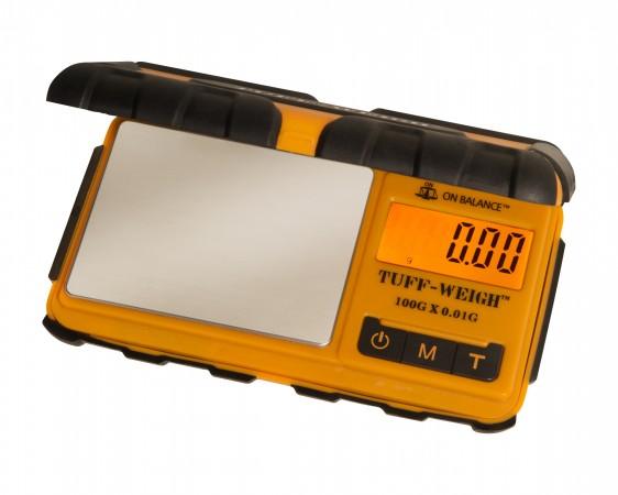 Váha TUFF-WEIGH scale 100g/0,01g černá/oranžová