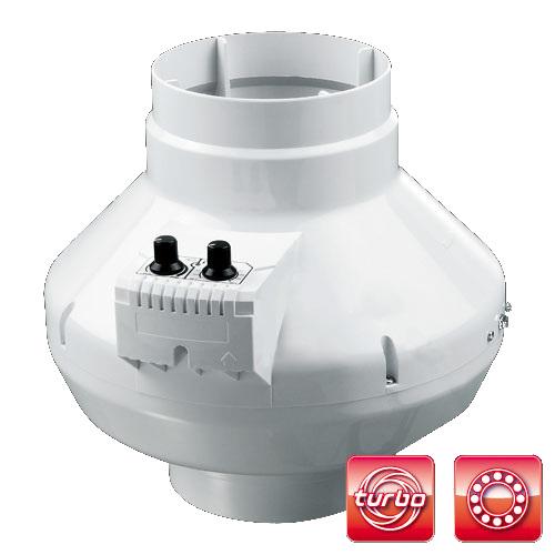 Ventilátor VKS 315 U, 1700m3/h, se silnějším motorem a termostatem
