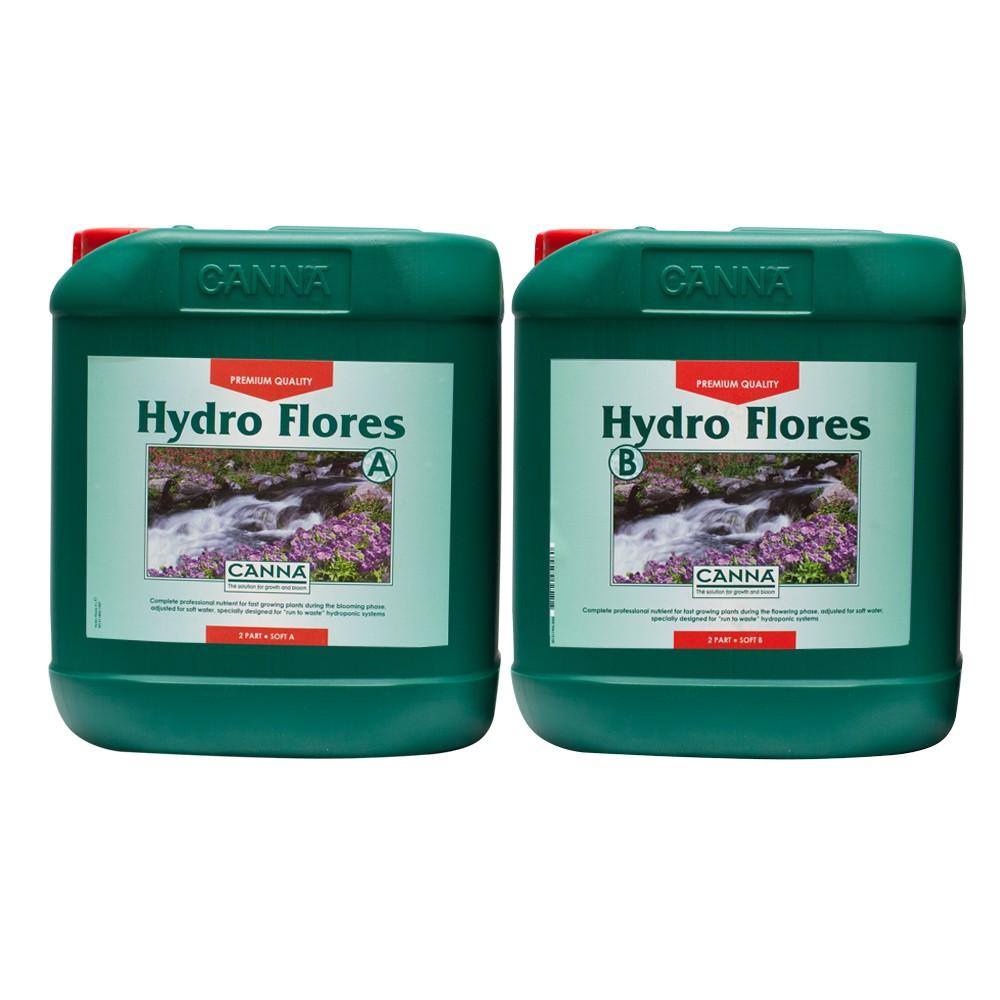 Canna Hydro Flores A+B 5l, květové hnojivo