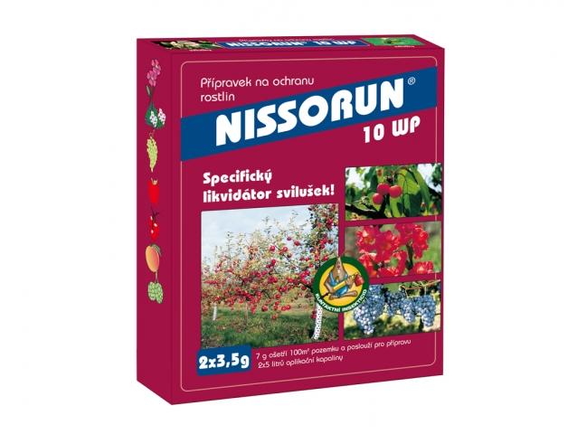 Nissorun 10WP 7g, insekticidní přípravek
