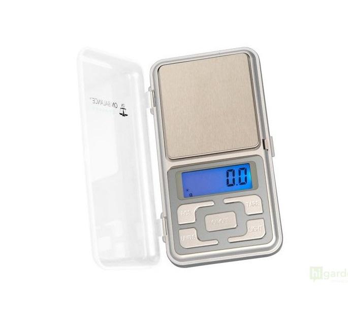 Váha DY miniscale 500g/0,1g stříbrná