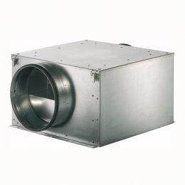 Odhlučněný ventilátor RUCK ISOTX, 355 m3/h, příruba  125mm