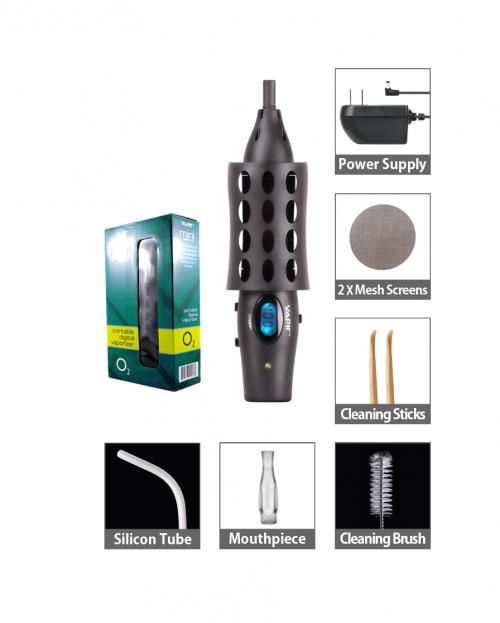 Vaporizér Vapir Oxygen Mini, komplet včetně nabíjecí baterie