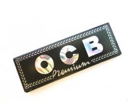 Papírky OCB Black King Size, 32ks v balení