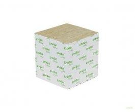 GRODAN pěstební kostka malá, 75x75x65mm, bez díry, box 384ks