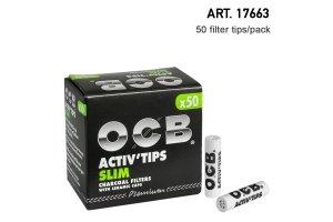 Filtry OCB Active tips 7mm 50ks v balení