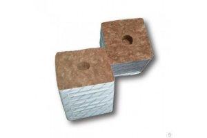 Agra-Wool pěstební kostka 75x75x65mm, s malou dírou