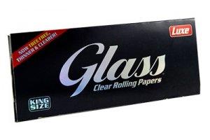 Průhledné papírky LUXE GLASS King Size, 40ks v balení