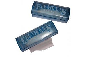 Rolovací papírky ELEMENTS SLIM, 5m + plast holder