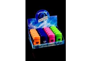Butanový zapalovač Special Blue, různé barvy, 1ks