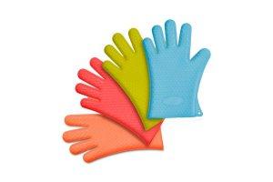 Silikonová rukavice na extrakt - různé barvy, 1ks