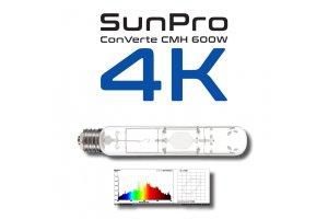 Výbojka SUNPRO ConVerte CMH 600W/E40/4K