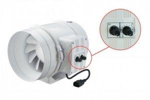 Ventilátor s termostatem   Vents/Dalap 250 U-T, 1110/1400m3/h