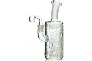 "Heatex Glass bong Ancient Greek Dab 8"""