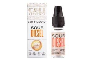 E-liquid Sour Diesel CBD 100mg 10ml 0% Nicotine