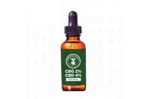 Fénixovy kapky CBG olej 2% + CBD olej 4% bez aroma, 10ml