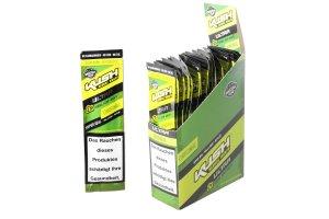 Kush Herbal Hemp Blunt Wraps Ultra Green Box 25x2ks