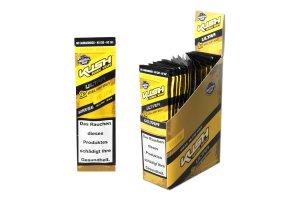 Kush Herbal Hemp Blunt Wraps Ultra Yellow Box 25x2ks