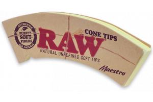 Kónické filtry RAW Cone Maestro, 32ks v balení