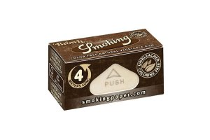 Rolovací papírky SMOKING BROWN ROLLS, 4m v balení