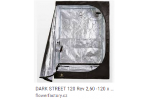 DARK STREET 120 Rev 2,5-120 x 120 x 185cm, vrácené